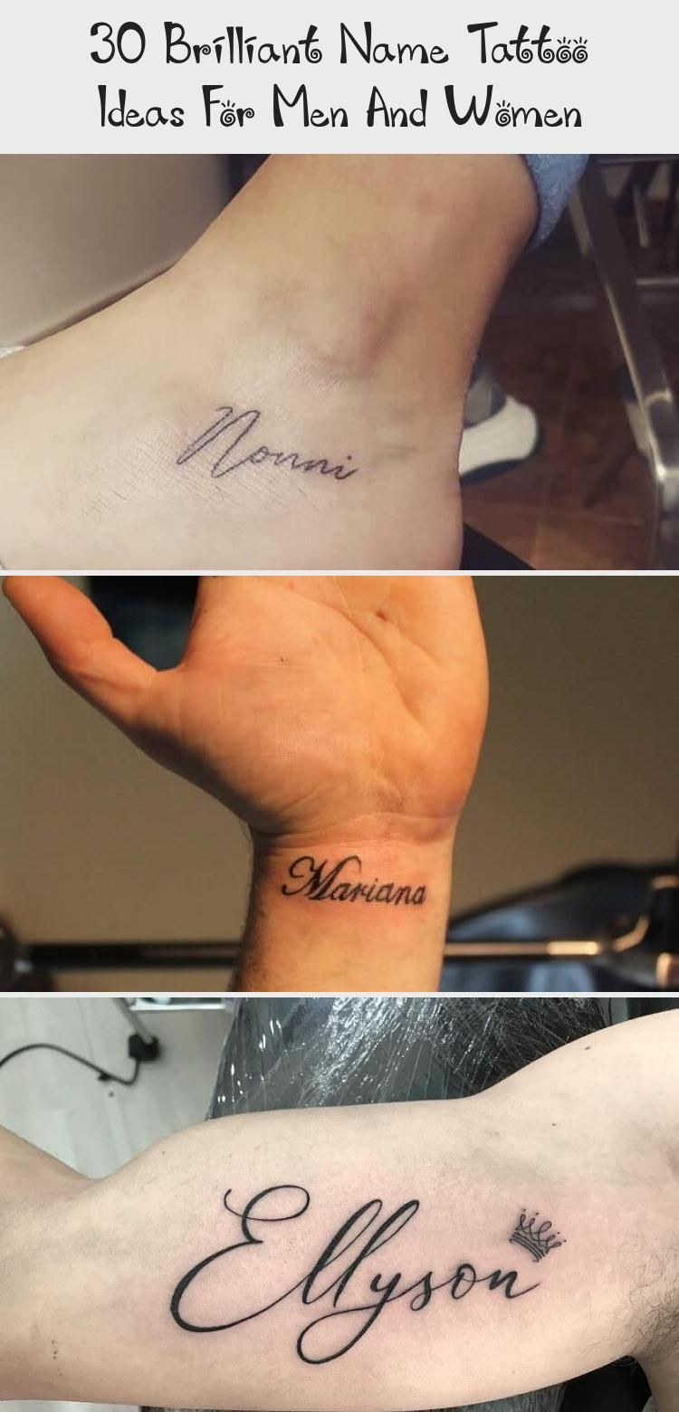 30 Brilliant Name Tattoo Ideas For Men And Women Tattoo On Muscle Arm Armtatto 30 Brilliant Nam In 2020 Name Tattoo Arm Tattoos For Guys Name Tattoos For Girls