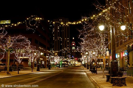 Christmas In Denver Colorado.3 Literally What It Looked Like The Night Travis Proposed