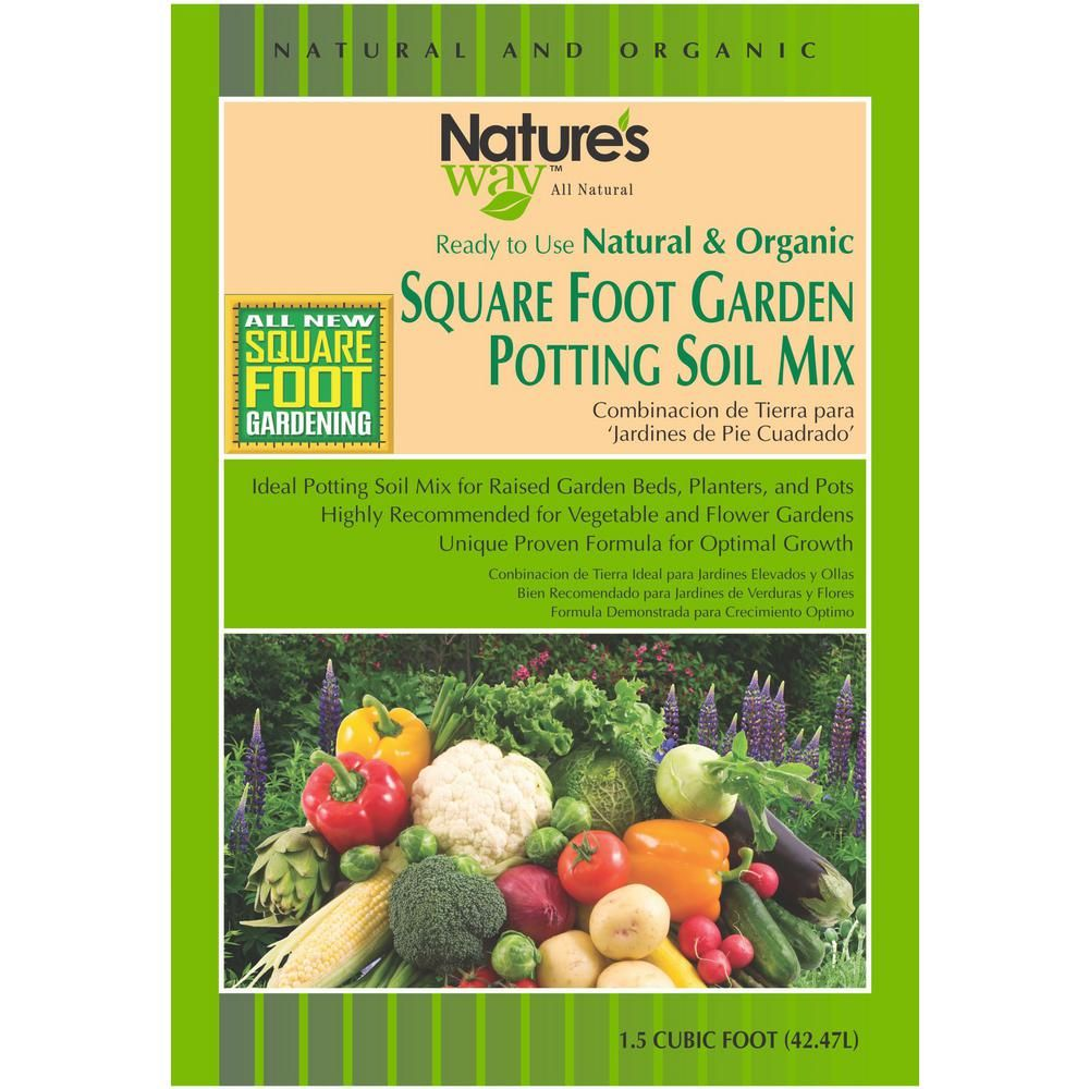Square Foot Gardening Mix Home Depot