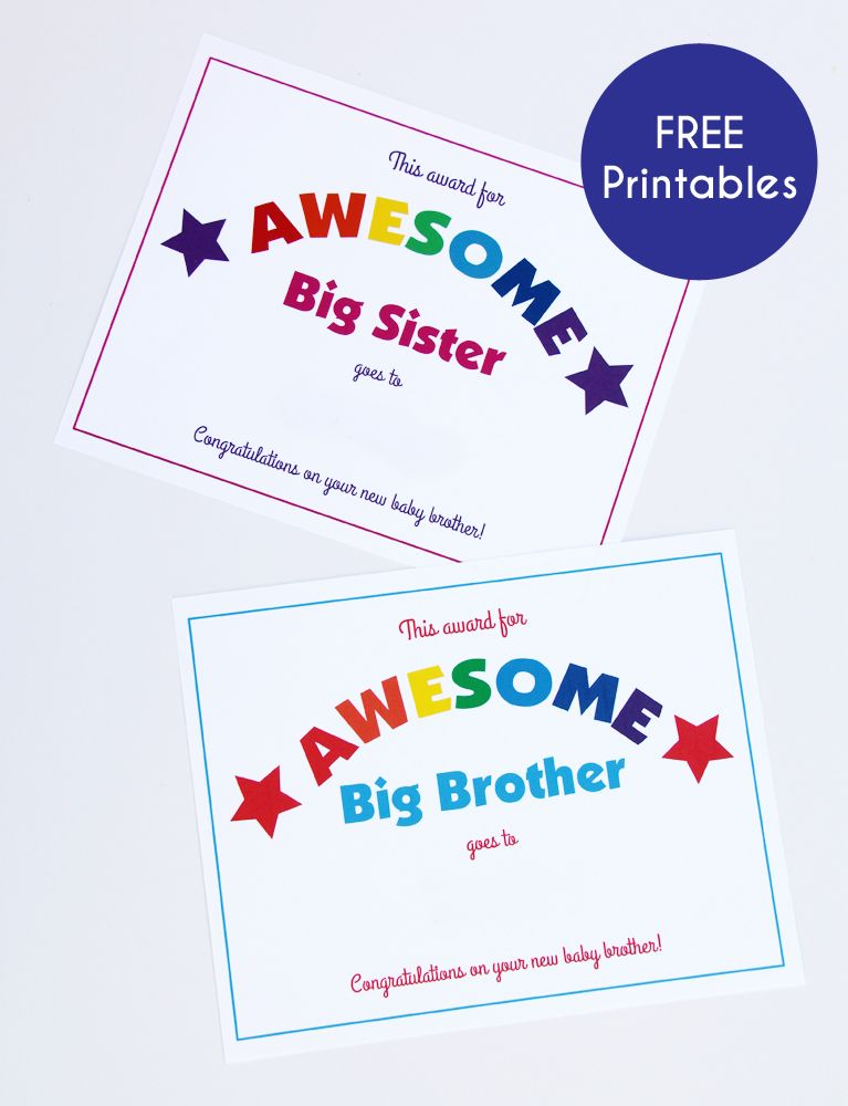 This Baby Of Mine A Virtual Baby Shower Gifts For Brother Big Brother Kit Big Sibling Gifts
