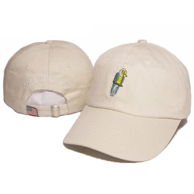 Parrot Embroidery Dad Hats  Sale   89325d7c1b1
