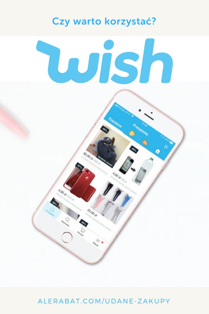 Czy Jest To Bezpieczne Czy Warto Korzystac Z Aplikacji Wish Zakupy Tanie