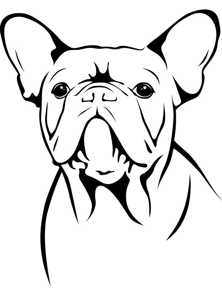 French Bulldog Coloring Pages Bulldog Is A Pet Dog With Specific Appearance With Wide Head And S Dog Coloring Page Animal Coloring Pages Puppy Coloring Pages