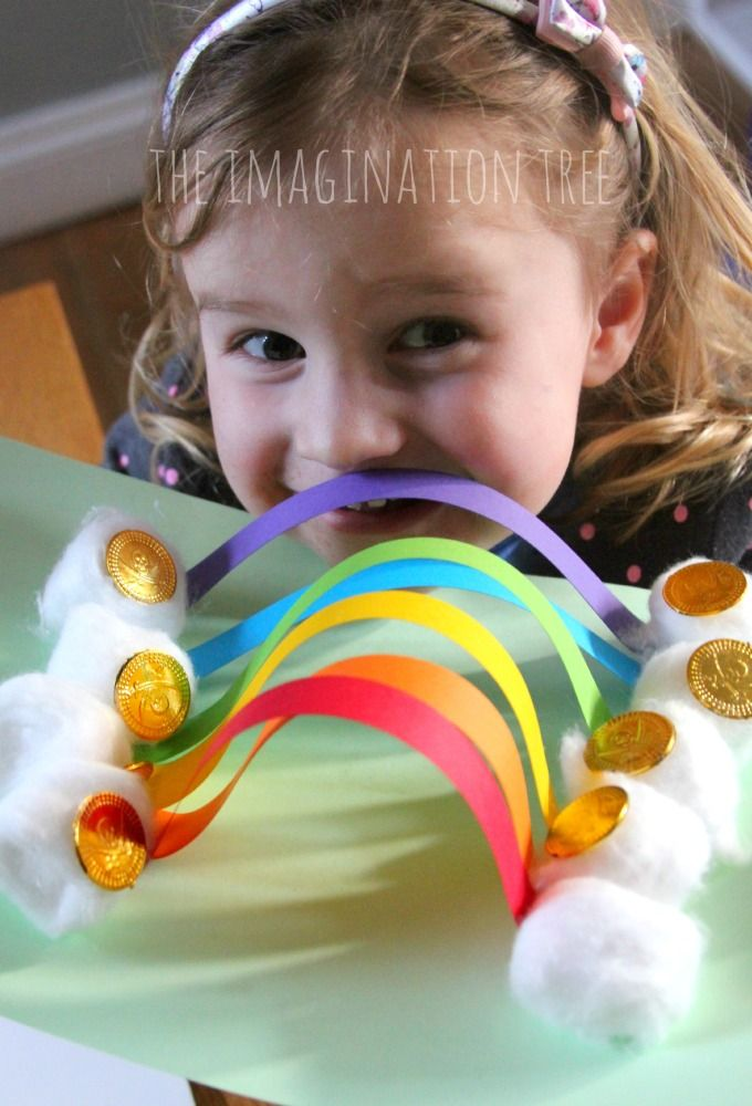 Rainbow Paper Sculpture Craft Kids Crafts Rainbow Paper Paper