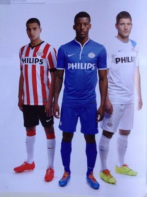2efcdf945 Equipacion PSV Eindhoven segunda 2014-2015