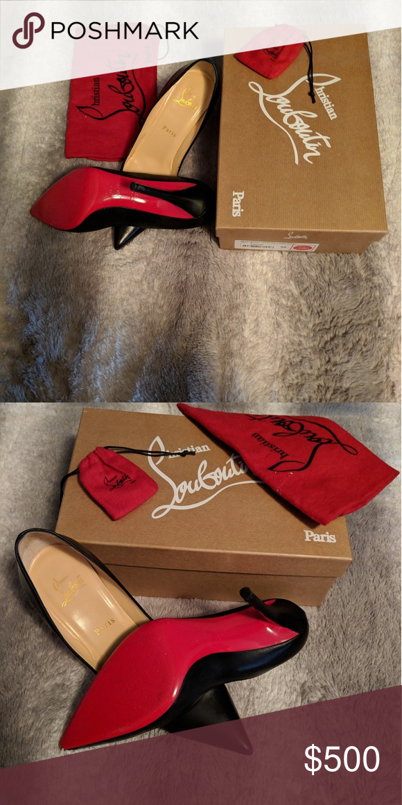 3b7d9fcc7d3 Christian Louboutins (Red Bottoms) Worn 3 times no scratches ...
