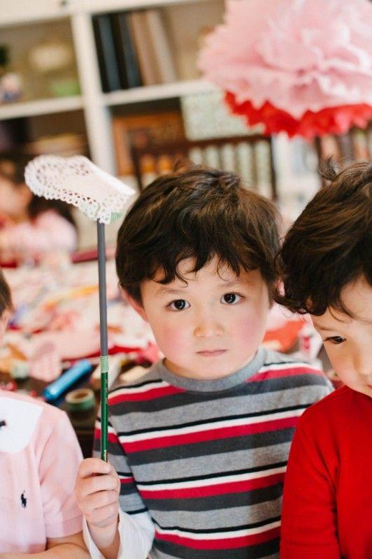 Card Making Party Ideas Part - 41: DIY | Valentine Crafts | Kids Party | Valentine Card-Making Party | Natalie  Bradley