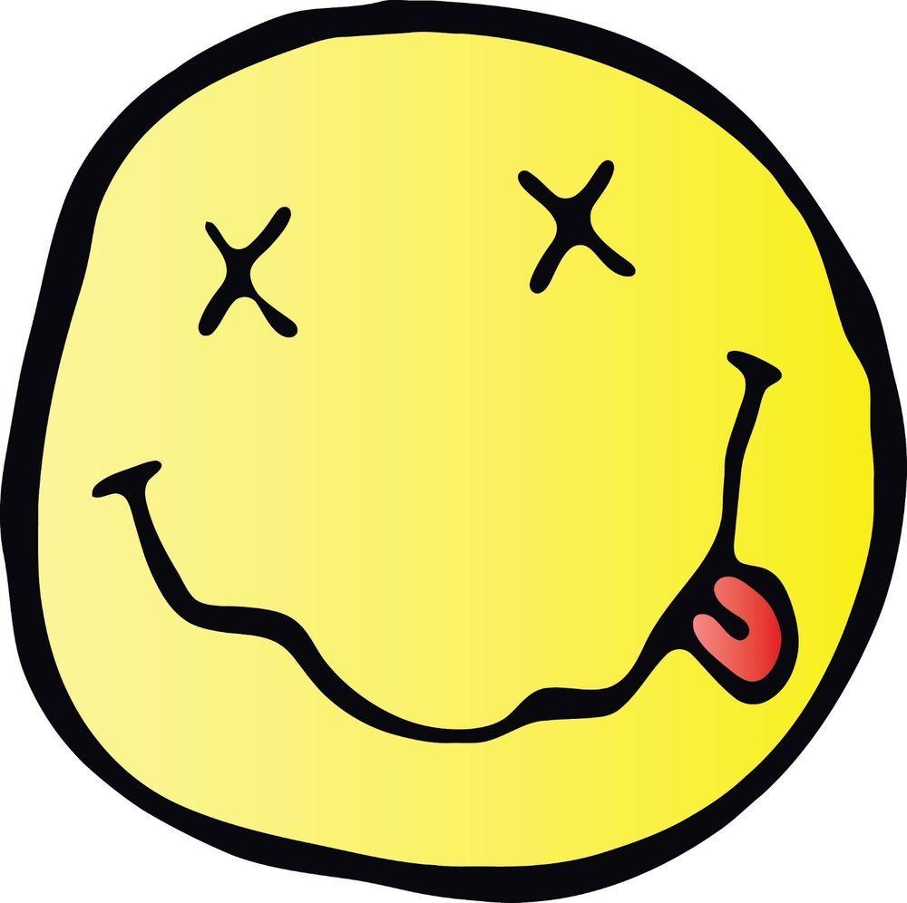 Resultado de imagen de nirvana smiley cobain