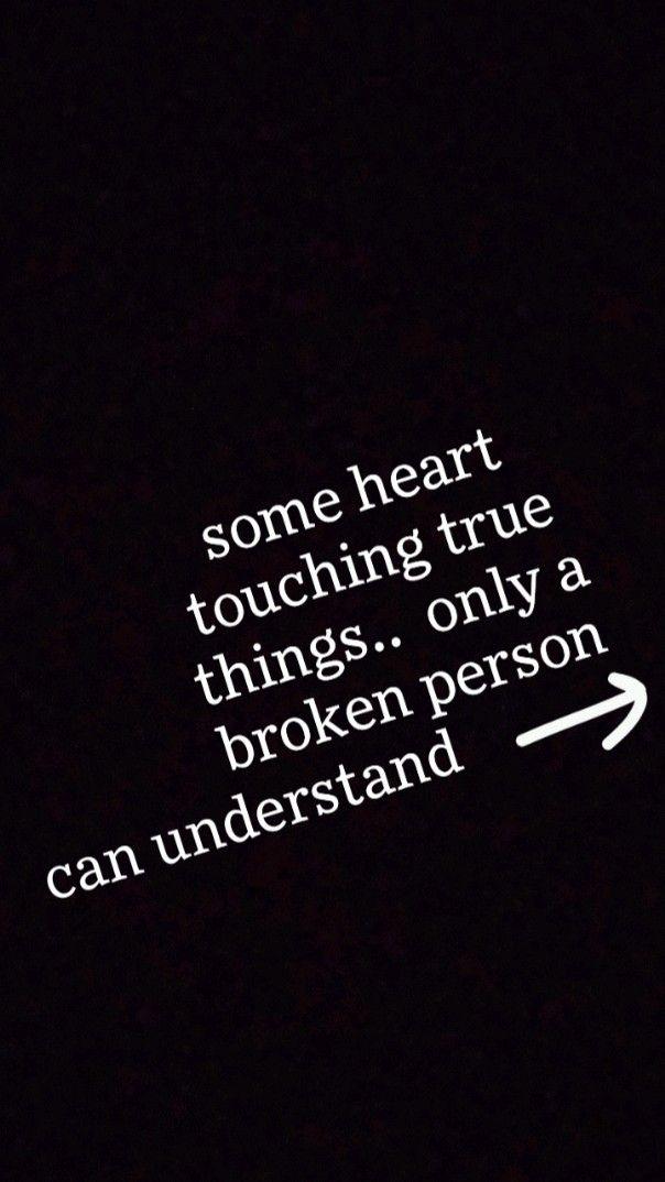 feeling broken 💔