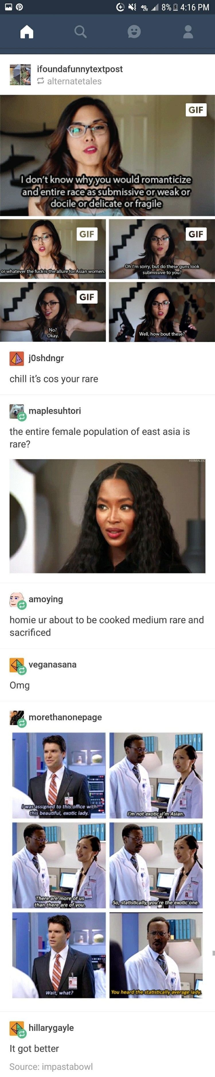 Asian women are not your exotic, fetish. Fuck off