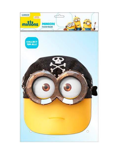 d0546e32f5b41 Máscara Minion Pirata. Los Minions Divertida máscara destinada a los más  pequeños de la casa. Especial fiestas infantiles.