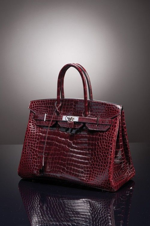 7c943b0c5e hermes crocodile shoulder birkin burgundy