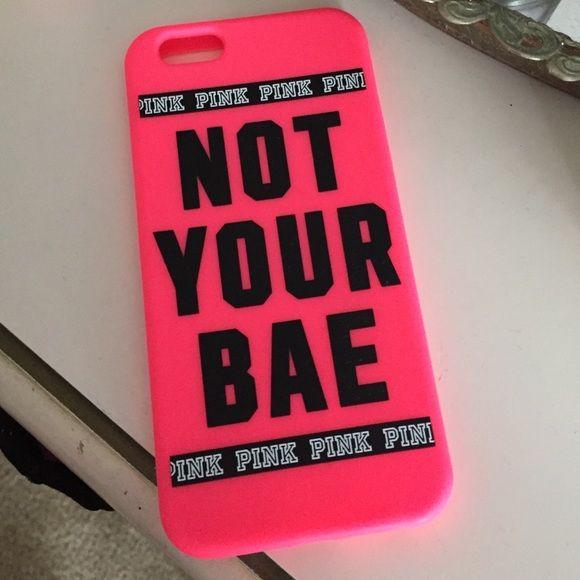 Victoria secret iPhone 6 case Victoria secret iPhone 6 case PINK Victoria's Secret Accessories Phone Cases