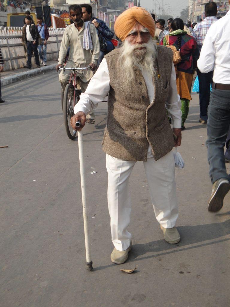 Calle de Nueva Delhi