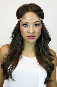 Gold Mesh Headband