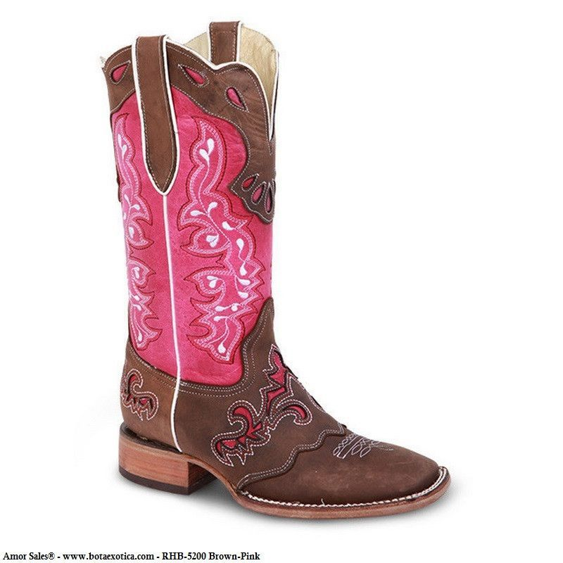3d9a41ae39 ... Western 9 Boots for Women. RHB-5200 - Botas Vaqueras para Mujer