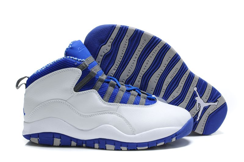 the best attitude 8bada cf6a7 Have anybody seen these Jays around? Jordan retro 10 blue | Nike Air Jordan  10 (X) Retro White Blue