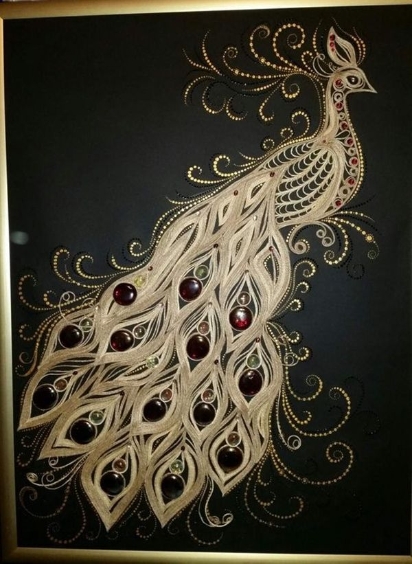 40 Easy Peacock Painting Ideas which are Useful - Bored Art