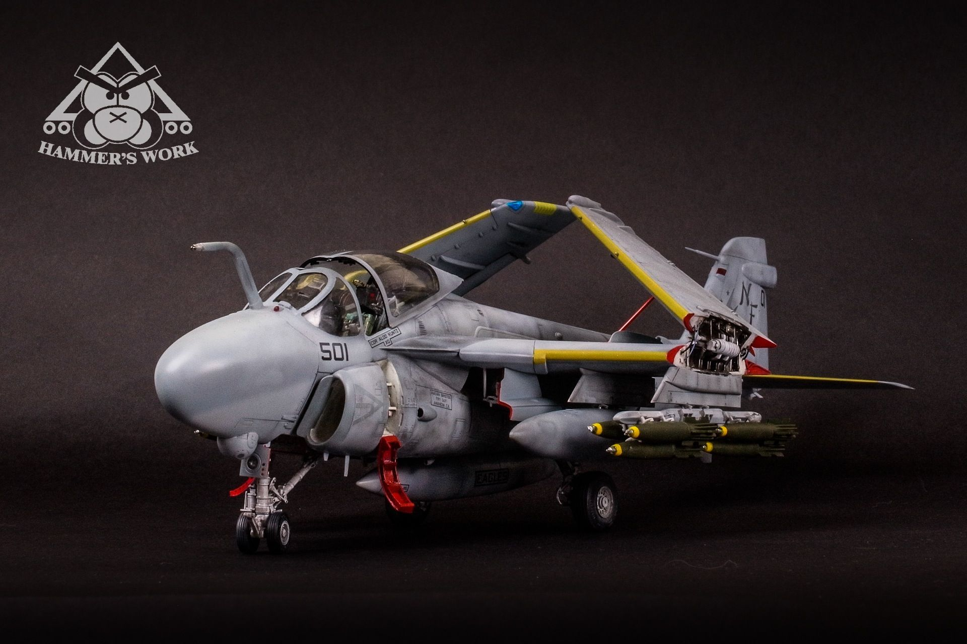 Kinetic Models 1//48 Grumman A-6E Intruder