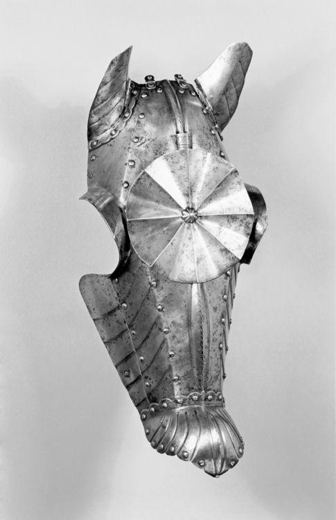 Horse Shaffron, Itlay 1500s