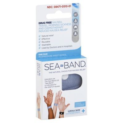 Sea-Band Nausea Relief Wrist Band - buybuyBaby.com | Sea ...