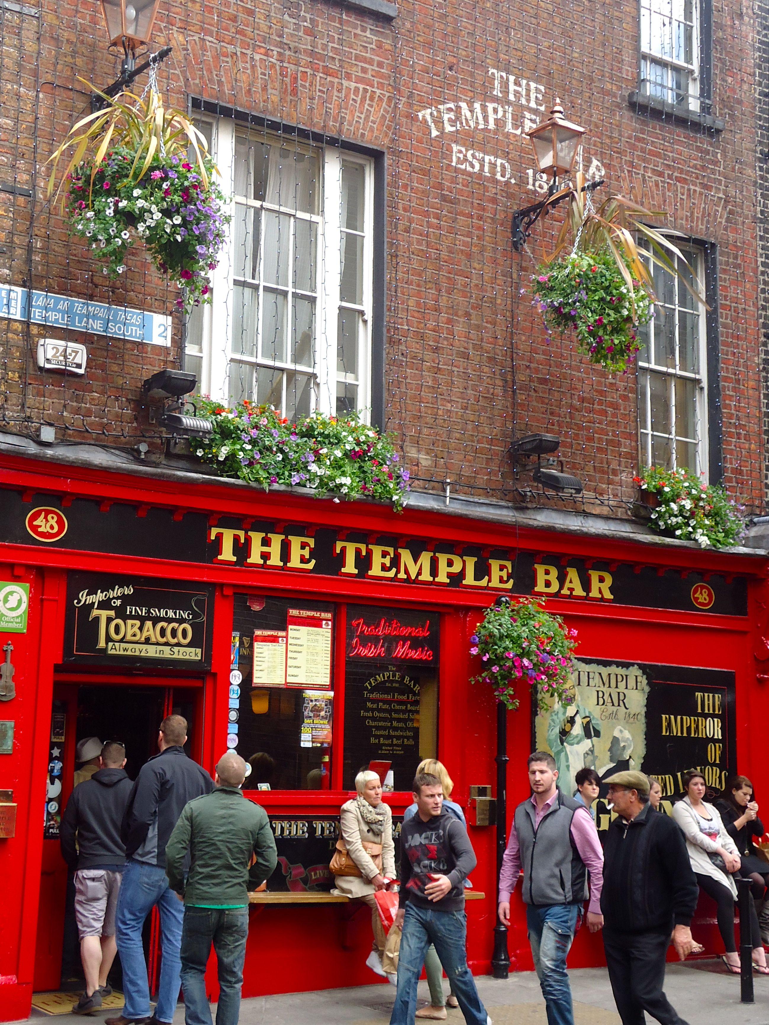 Temple bar- Dublin, Ireland