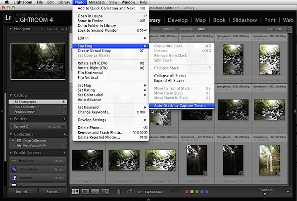 Remove rejected photos lightroom