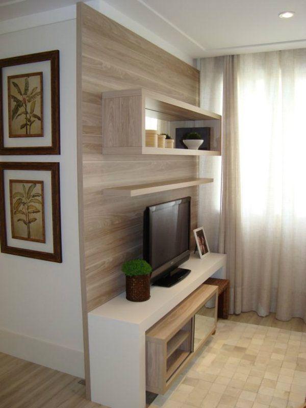 Rack para Sala Pequena 15 Modelos e Opções Home Home Decor, Decor e Room Decor -> Decoração Rack Para Sala Pequena
