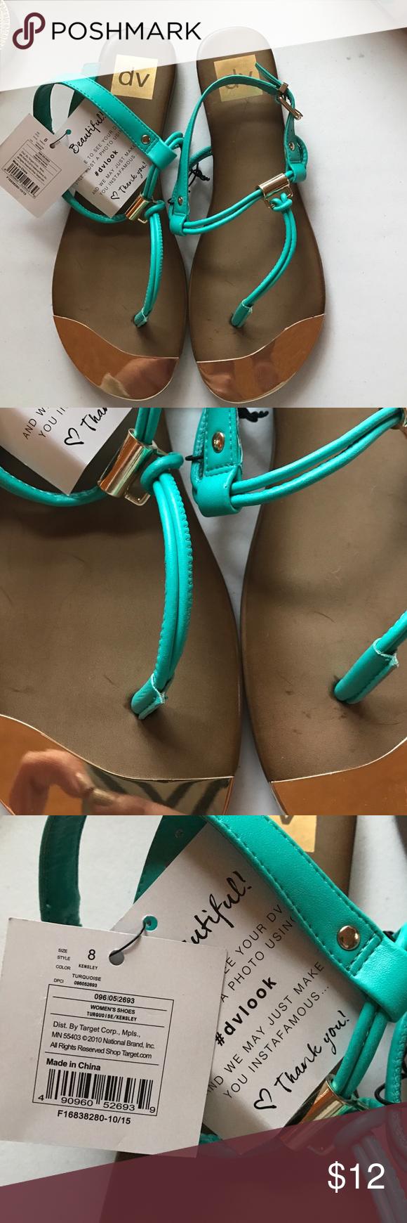 Selling this NWT DV dolce vita sandals size 8 on Poshmark! My username is: amandadotcom. #shopmycloset #poshmark #fashion #shopping #style #forsale #DV by Dolce Vita #Shoes
