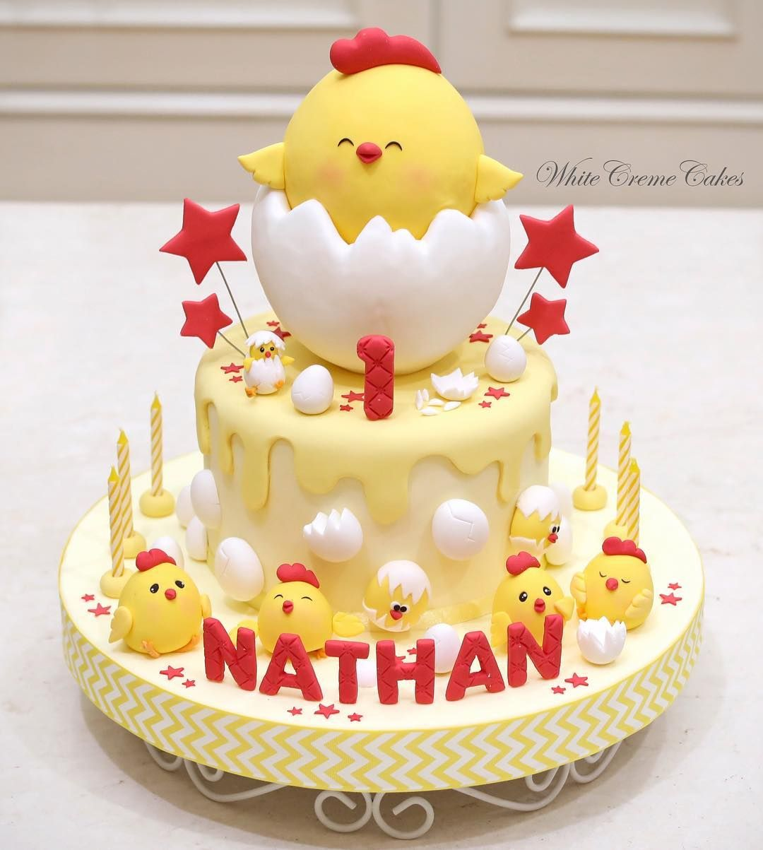 Astonishing Image May Contain Food With Images Chicken Cake Baby Birthday Cards Printable Inklcafe Filternl