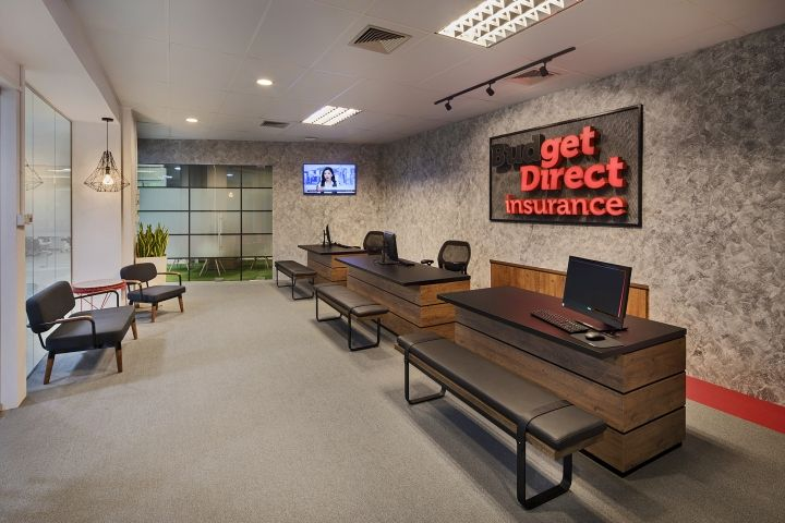 Budget Direct Insurance Office By Kyoob Id Retail Design Blog