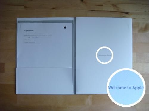 Apple Job Offer 'Unboxing' Pictures Posted - Mac Rumors