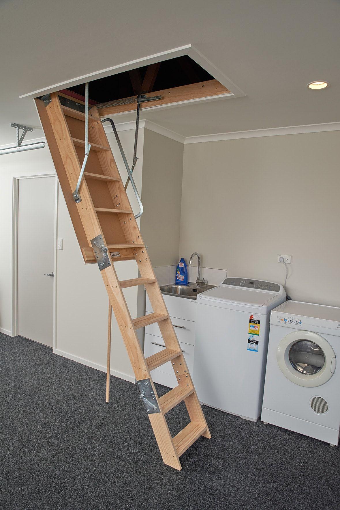 Sellwood Attic Ladder Installation Professional Service Attic Ladder Loft Ladder Loft Hatch And Ladder