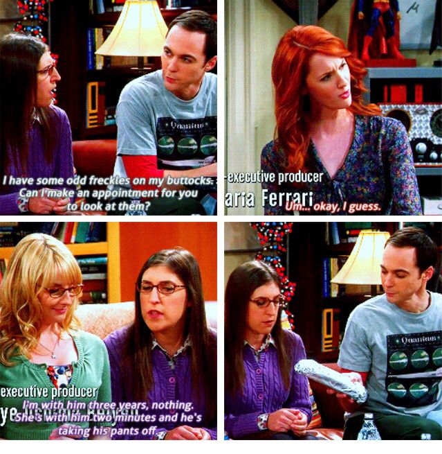 The Big Bang Theory a little innuendo xD