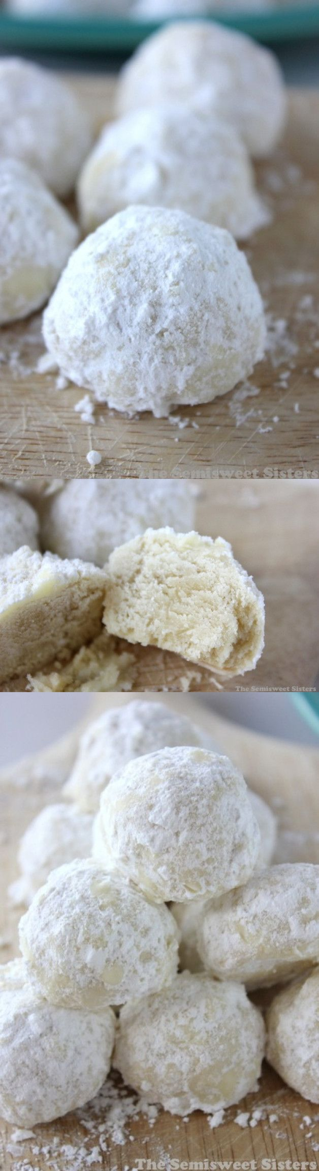 Snowball Cookies (Without Nuts Receita