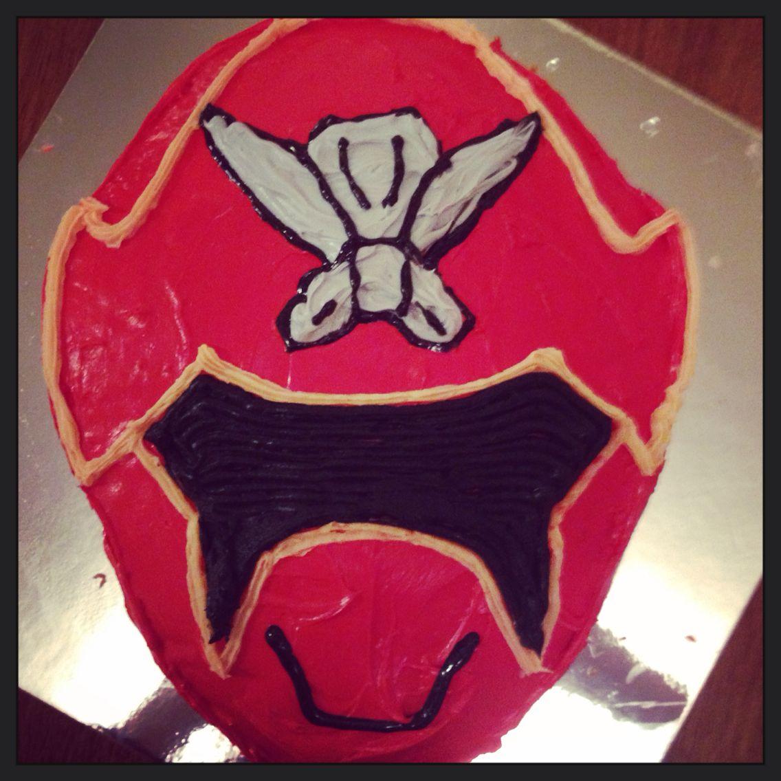 Super mega force power ranger cake