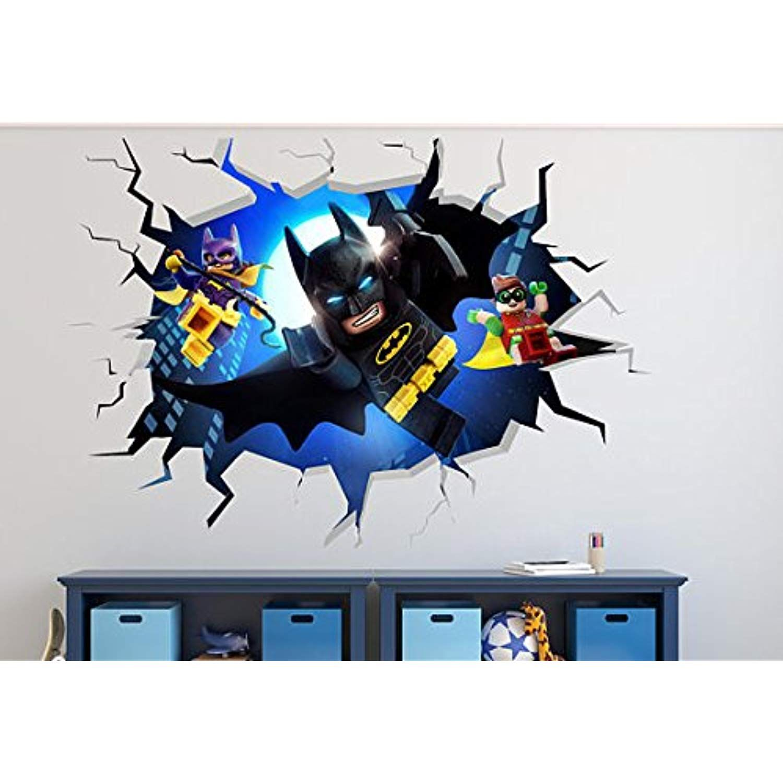 LEGO BATMAN VINYL WALL STICKER WALL DECALS