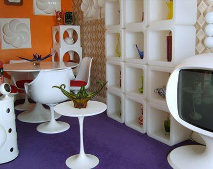 Retro interieur ideeen | origineel interieur | Pinterest | Future ...