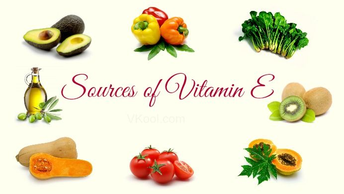 List Of The Best Food Sources Of Vitamin E For Human Health