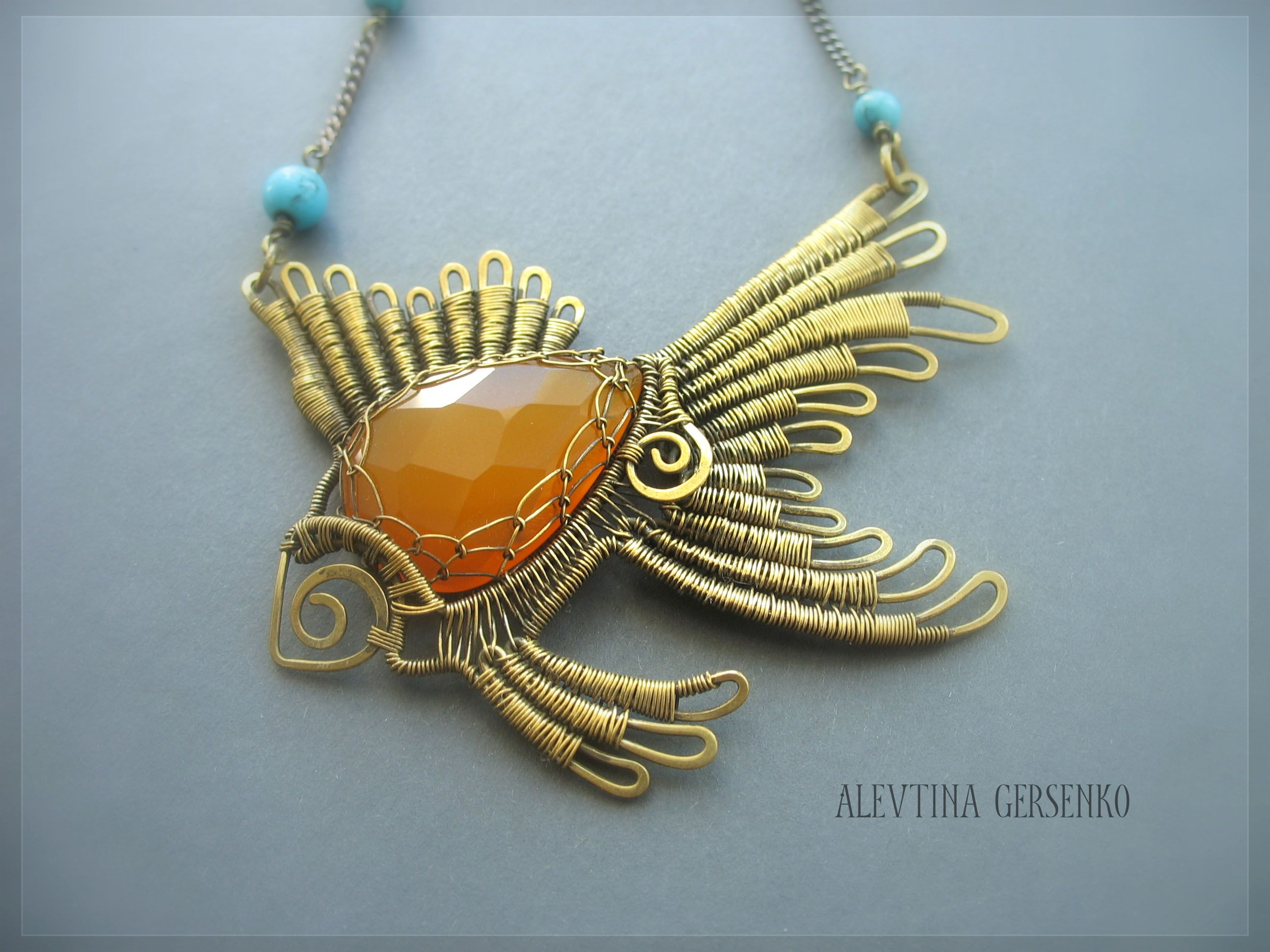 Gold Fish | Wirework Animals & People | Pinterest | Fish, Gold and ...