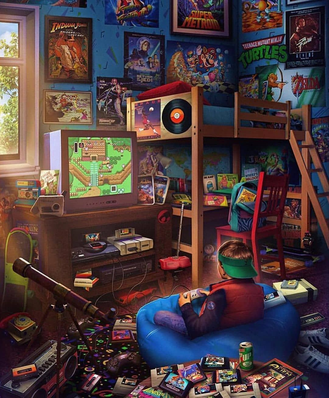 Once Upon Some Times Retro Gaming Art Retro Art Gaming Wallpapers