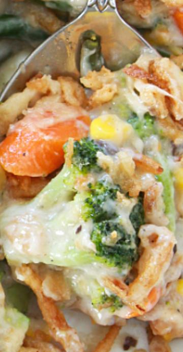 Frozen Vegetable Casserole | Recipe | Vegetable casserole ...