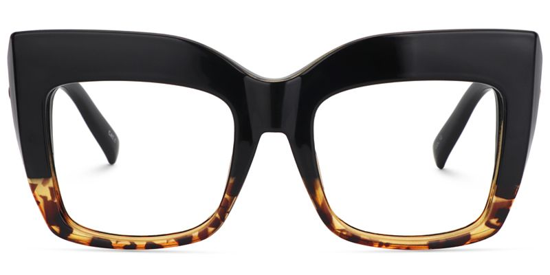 Photo of Alberta Cat Eye Schildkrötenbrille | Zeelool Optical