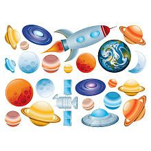 Fun 4 Walls Wall Decals Space Stickarounds Space Wall Decals