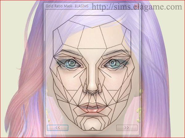 Facial golden ratio freeware