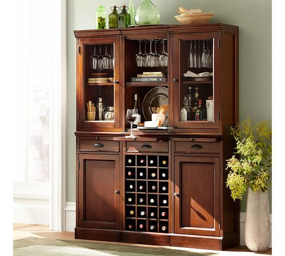 Best Build Your Own Modular Bar Cabinets Pottery Barn 400 x 300