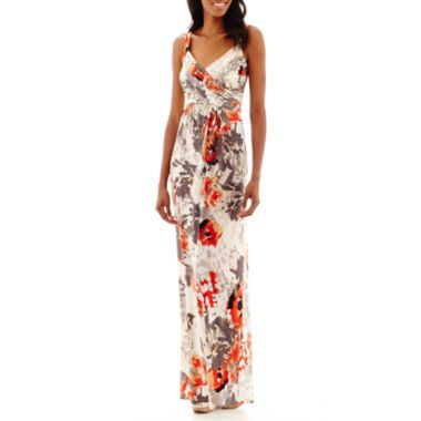 ceaa9b68819ab Robbie Bee® Sleeveless Floral Print Maxi Dress found at @JCPenney ...