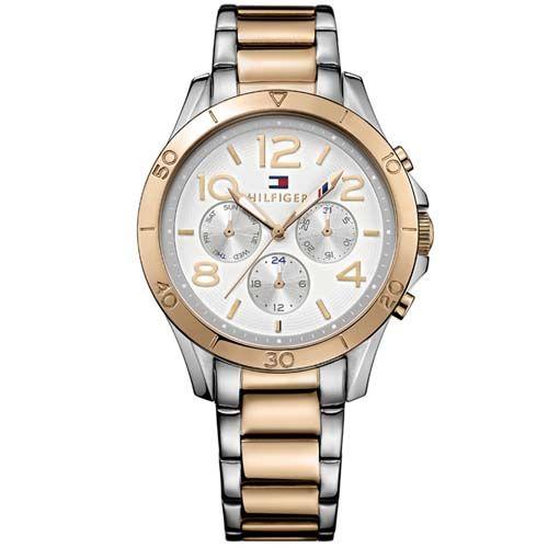 e1c29656165 Relógio Tommy Hilfiger Feminino Aço Prateado e Rosé - 1781525 ...