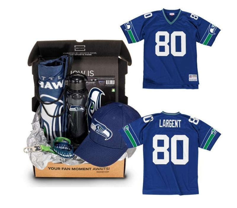 super popular ae648 ac7ea Seahawks Jersey FANCHEST - Steve Largent - M | Products in ...