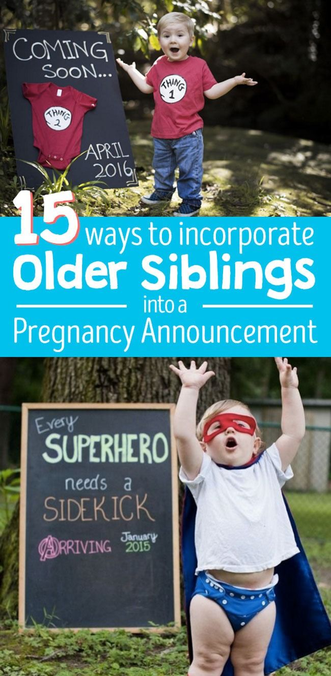 15 Ideas For Including Older Siblings In A Pregnancy